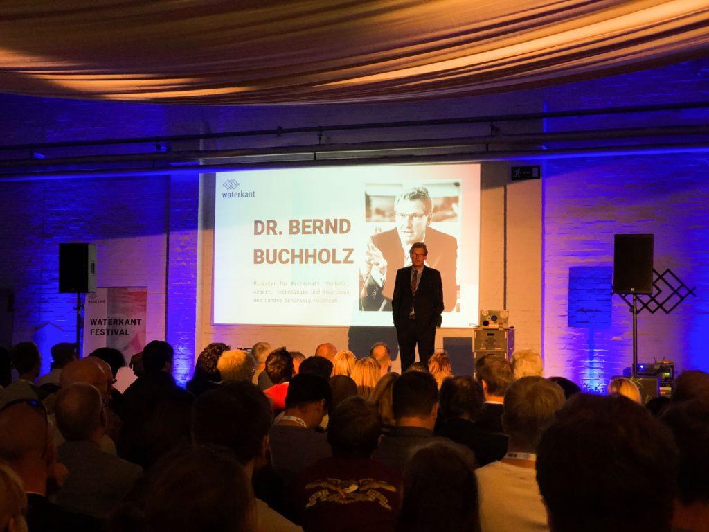 TZL Lübeck Waterkant Minister Buchholz